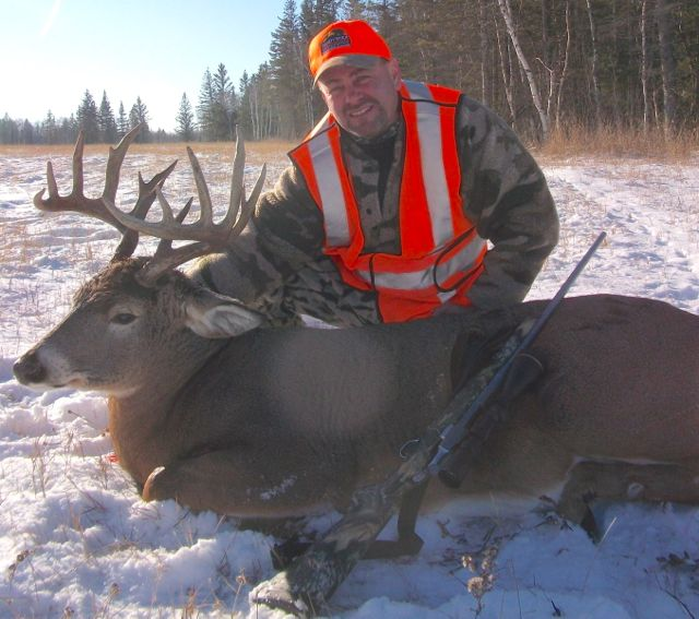 Guided Whitetail Deer Hunting Manitoba Guide Service