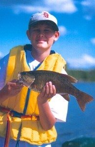 Smallmouth Bass with Manitoba Guide Service